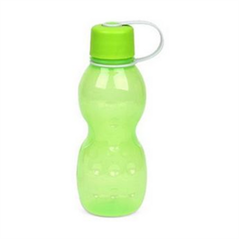 Lock and Lock Water Bottle 420ml Green - HAP803G