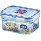Lock & Lock 5 Piece Plastic Container Set (350ml+470ml+550ml+850ml+1.1L ) with Colour Box - HPL815SG5