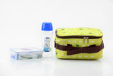Lunch Box (500ml water bottle+550ml container+Fork&Spoon+Bag) Green - HPL815BTS4AG