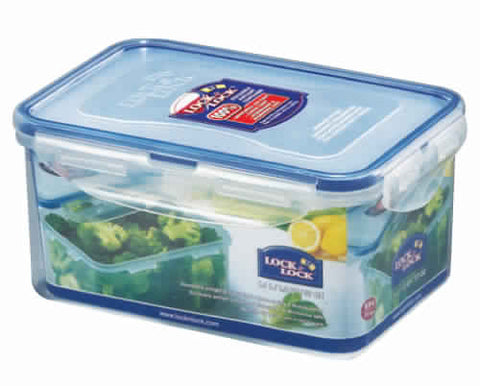 Lock & Lock Rectangle Plastic Container 1.1L - HPL815D