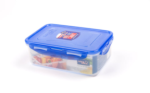 Lock & Lock Rectangle Plastic Container 1L Blue - HPL817B