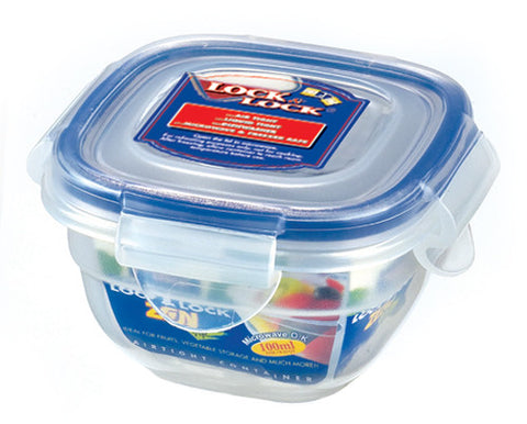 Lock & Lock Square Plastic Container 100ml - HSM8410