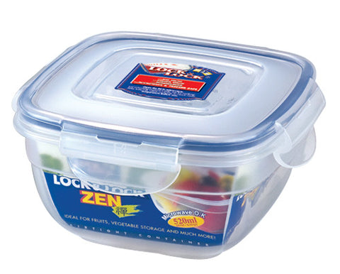 Lock & Lock Square Plastic Container 520ml - HSM8430
