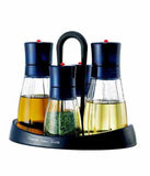 Lock & Lock Spice & Oil Dispenser Set (4 pcs) Blue - HTE400S4