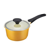 Lock & Lock CookPlus Saucepan-Ceramic-18cm-Yellow