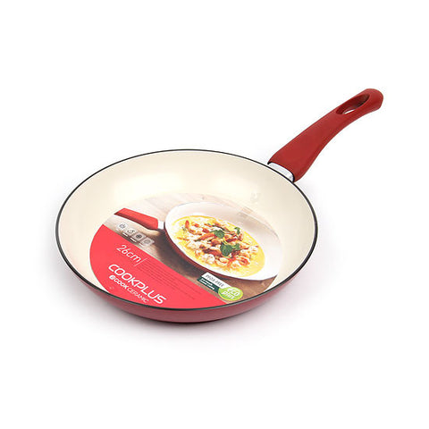 Lock & Lock Ceramic E-cook Frying Pan 26cm - LEC2263R