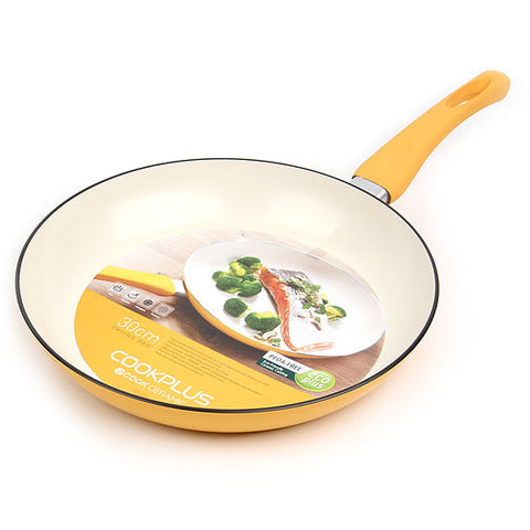 Lock & Lock Ceramic E-cook Frying Pan 30cm - LEC2303Y
