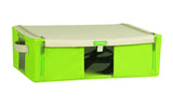Lock & Lock Living Box with window 29L (500x400x150mm) Green - LLB211G