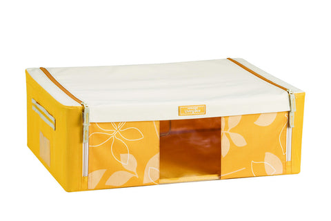 Lock & Lock Living Box with window 33L (540x370x180mm) Yellow - LLB523Y