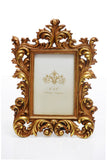Photo Frame 1 Photo (Photo Size: 10 x 15 cm) Gold - N231