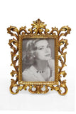 Photo Frame 1 Photo (Photo Size: 15 x 20 cm) Gold - N234