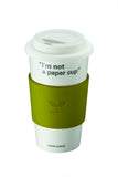 Lock & Lock Cermaic Mug 500ml Green - SLB002G