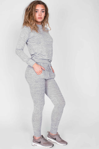 Grey Marl Sport Luxe Tracksuit