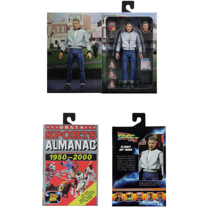 Back to the Future NECA Action Figure Ultimate Biff Tannen packaging