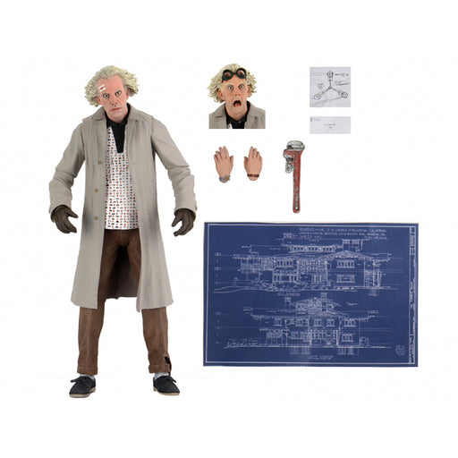 Back to the Future NECA Action Figure Ultimate Doc Brown