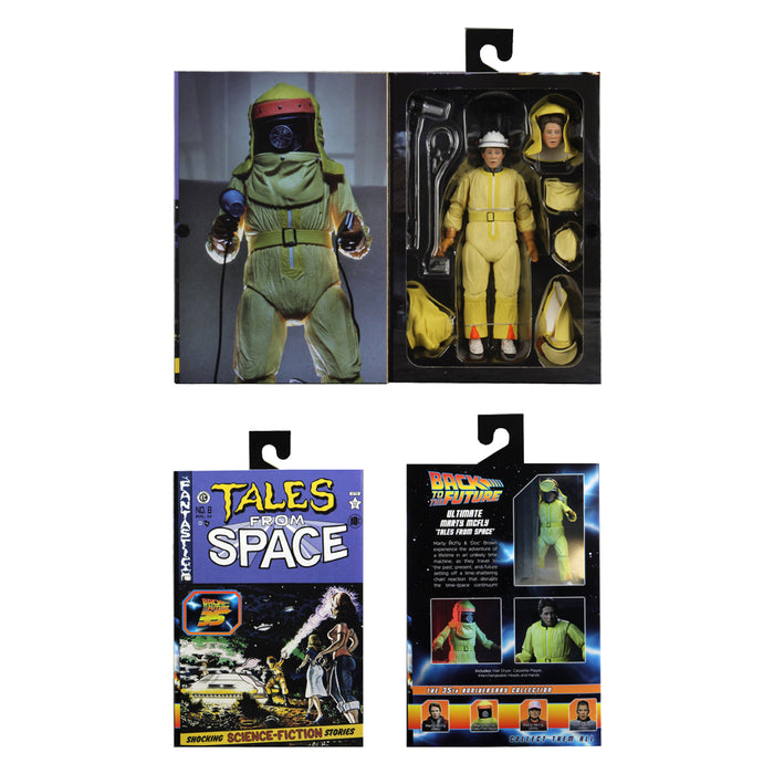 Back to the Future NECA Action Figure Ultimate Tales From Space Marty McFly packaging