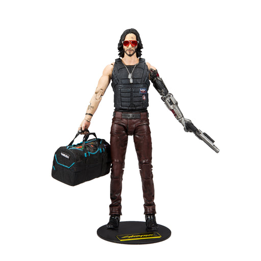 Cyberpunk 2077 McFarlane Johnny Silverhand Duffle Bag Variant Action Figure