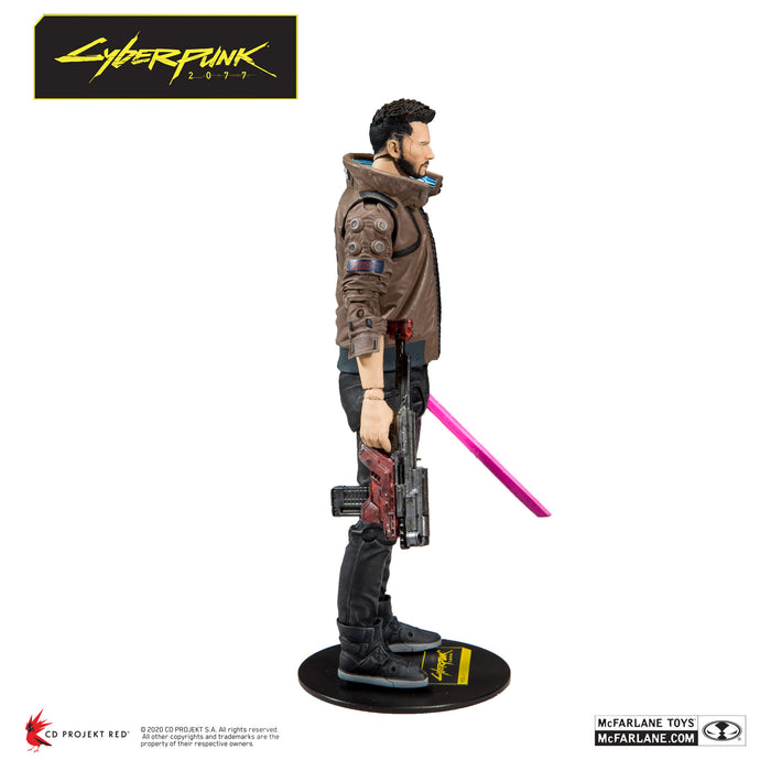 Cyberpunk 2077 McFarlane Male V Action Figure Right Side