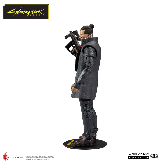Cyberpunk 2077 McFarlane Takemura Action Figure 2