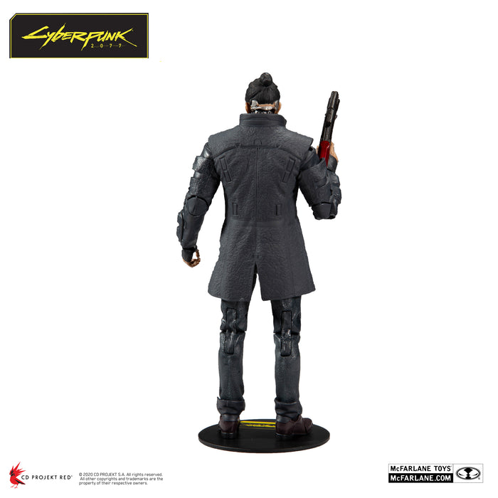 Cyberpunk 2077 McFarlane Takemura Action Figure 3