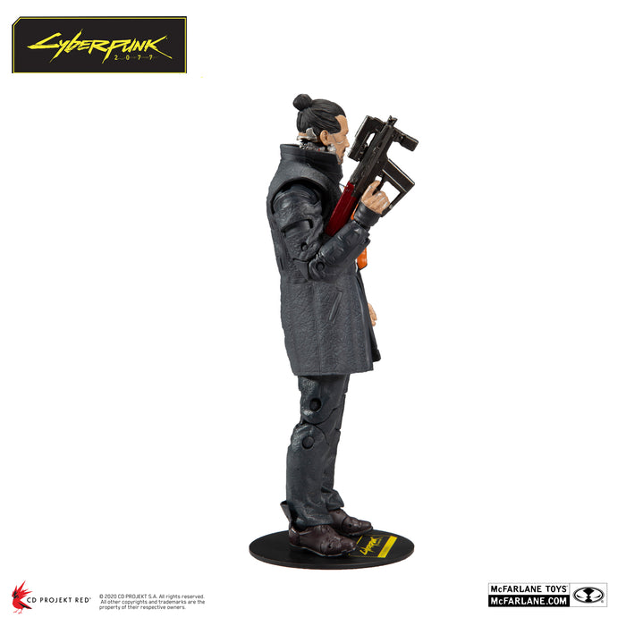 Cyberpunk 2077 McFarlane Takemura Action Figure 4