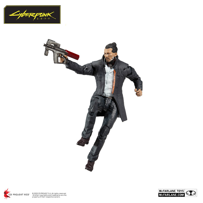 Cyberpunk 2077 McFarlane Takemura Action Figure 5