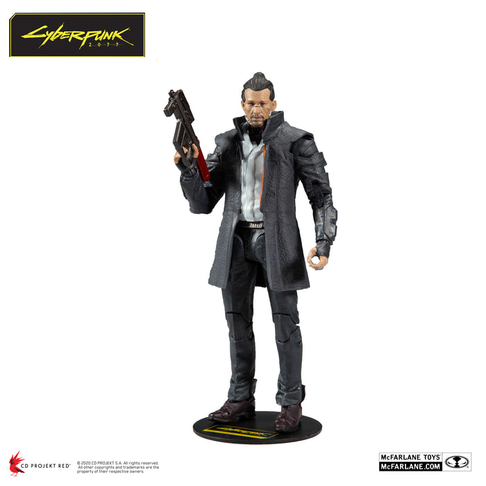 Cyberpunk 2077 McFarlane Takemura Action Figure