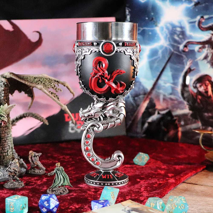 Dungeons & Dragons - Fantasy Role Play Die D20 Goblet 5