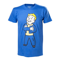 Fallout Vault Boy Arms Folded T-Shirt