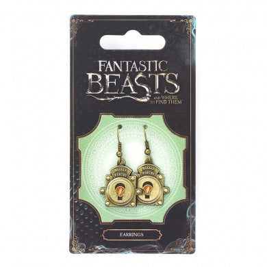 Fantastic Beasts MuggleWorthy Earrings