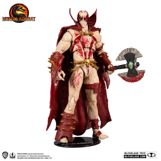 Mortal Kombat - Spawn Blood Feud Hunter McFarlane Action Figure 4
