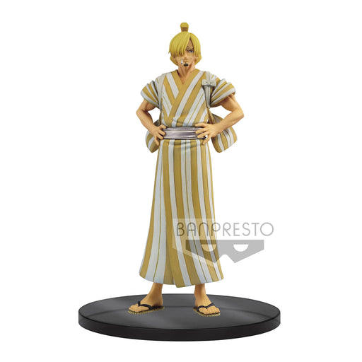 One Piece DXF Grandline Men Statue Wanokuni Vol. 5 Sanji