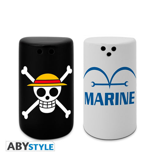 One Piece Salt & Pepper Shakers