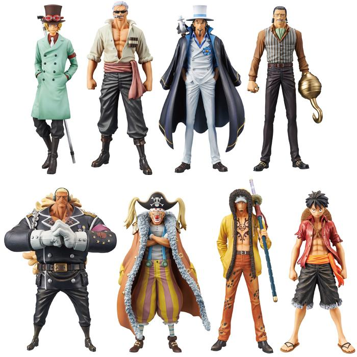 One Piece Stampede DXF The Grandline Men Banpresto Figure Collection