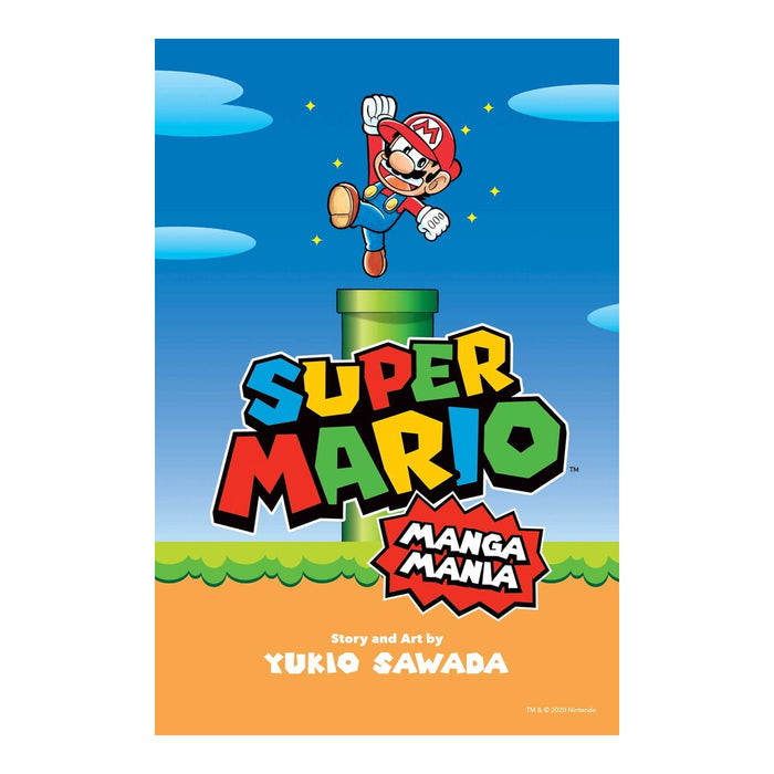 Super Mario Manga Mania Book Front Cover