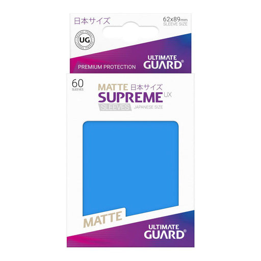 Ultimate Guard - Supreme UX Card Sleeves Japanese Size Royal Blue (60)