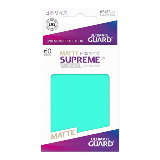 Ultimate Guard - Supreme UX Card Sleeves Japanese Size Turquoise (60)