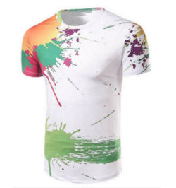 Male Color Splash T Shirts