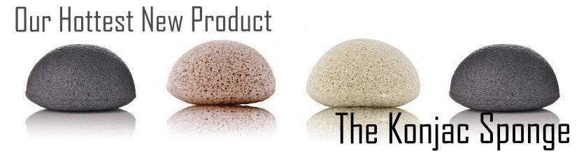 Our Hottest New Product - The Konjac Sponge