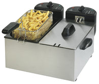 Team Pro CoolZone Double Fryer