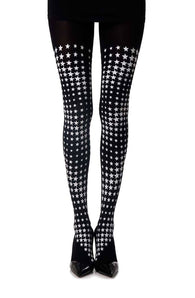 "Zohara ""Diamonds in the Sky"" Print Tights - CoCo Nells"