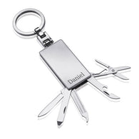 Engraved Tool Set Keyring