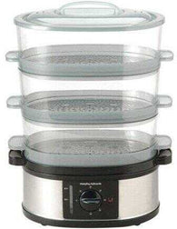 Morphy Richards 48755 3 Tier Stainless Steel Steamer - CoCo Nells