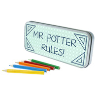 Personalised My Teacher Rules Pencil Case