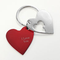 Red Heart Cut-away Keyring