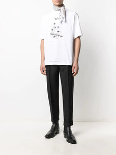 Acne Studios Peace Gallery-print T-shirt