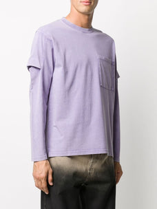 Jacquemus Layered-effect long-sleeve T-shirt