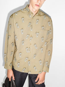 Jacquemus Le Simon long-sleeve shirt