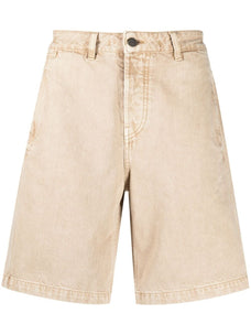 Jacquemus wide-leg denim shorts