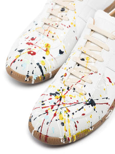 Maison Margiela Replica paint splatter-effect low-top sneakers
